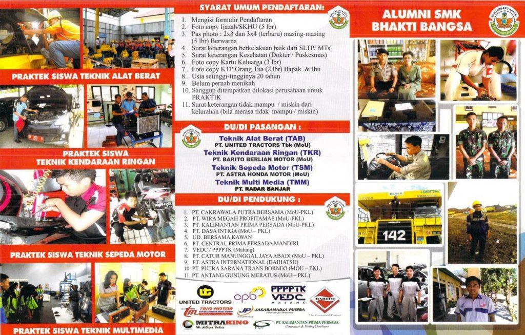 PPDB 2016/2017 SMK Bhakti Bangsa Banjarbaru
