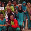 Juara II Lomba Bakiak