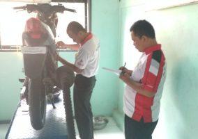 Pelaksanaan Kegiatan UKK Jurusan Teknik Bisnis Sepeda Motor (TBSM)