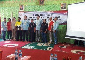 KUNJUNGAN YAYASAN AHM & PT. TRIO MOTOR KE SMK BHAKTI BANGSA BANJARBARU