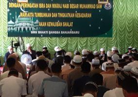 Peringatan Isra dan Mi'raj Nabi Besar Muhammad SAW di Aula SMK Bhakti Bangsa