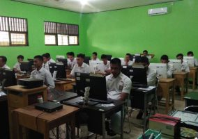 Pelaksanaan Kegiatan UNBK dan USBN Siswa-Siswi SMK Bhakti Bangsa Banjarbaru