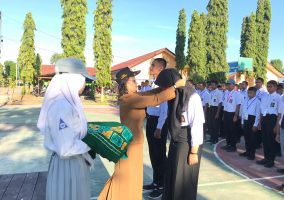 Pengenalan Lingkungan Sekolah Siswa-Siswi baru SMK Bhakti Bangsa