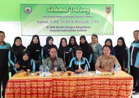 Pelaksanaan Kegiatan Penilaian Kinerja Kepada Sekolah (PKKS)