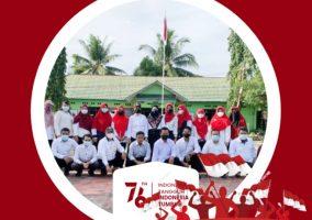 Perayaan HUT RI 76_Upacara Bendera SMK Bhakti Bangsa Banjarbaru 2021